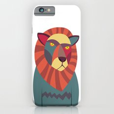 Hipster Lion Slim Case iPhone 6s