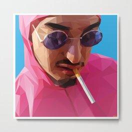 Pink Guy Metal Print