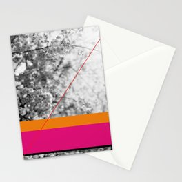 pink and orange Stationery Cards