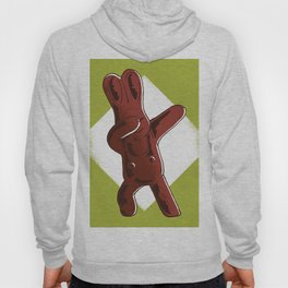 Dabbing Chocolate Easter Rabbit Hoody
