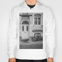 house Hoodies featuring House by Laura Arroyo