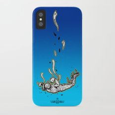 The Skydiving Mummy iPhone X Slim Case