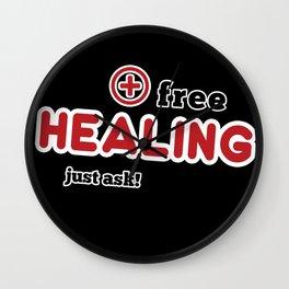 Free Healing Wall Clock