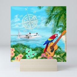 Tropical Travels Mini Art Print