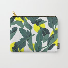 Tropical '17 - Fresh [Banana Leaves] Carry-All Pouch