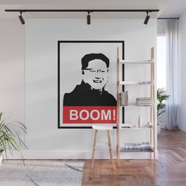Kim Jong Un BOOM #society6 #decor #buyart #artprint Wall Mural