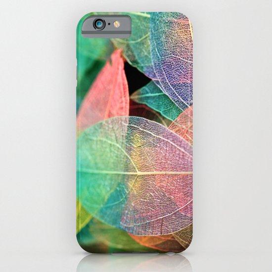 Skeleton Leaves iPhone & iPod Case