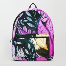 girl in the woods Backpack