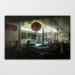 Night Market Canvas Print