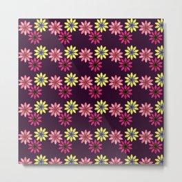 Flower Pattern XVIII Metal Print