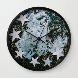 Full Frost Moon Wall Clock