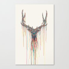 Dripping Deer Canvas Print