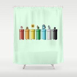 Drainbow 3 Shower Curtain