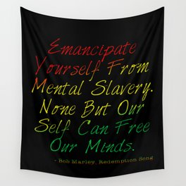Redemption Songs Wall Tapestry
