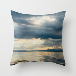 CLOUD SHADOWS Throw Pillow