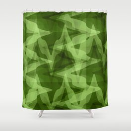 Rhythms in the Forest Shower Curtain