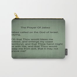 The Prayer of Jabez Carry-All Pouch