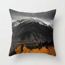 AUTUMN MOUNTAINS Throw Pillow