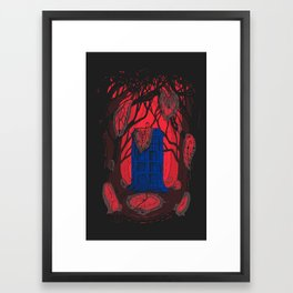 Melty Welty Timey Wimey Framed Art Print