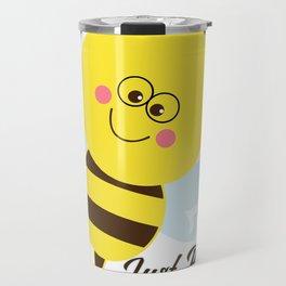 Just Bee Awesome Travel Mug