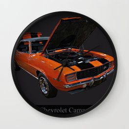 1969 Chevy Camaro Z28 Wall Clock