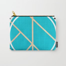 Leaf - small triangle graphic Carry-All Pouch