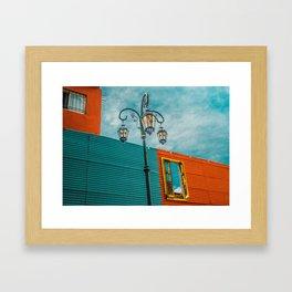 La Boca - Buenos Aires Framed Art Print