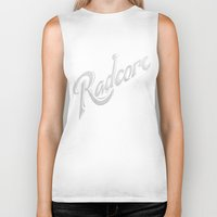 army Biker Tanks featuring Radcore Army by Ocean Ave // Lettering and Design