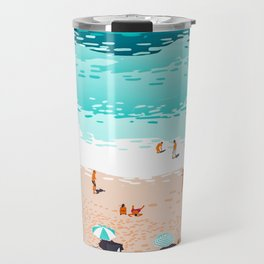Dream in Colors Borrowed From The Sea #illustration Travel Mug