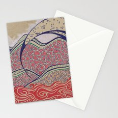 Desert Wave Stationery Cards