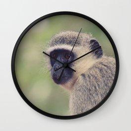 little monkey Wall Clock