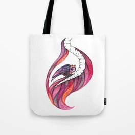 Gazing Out The Window Tote Bag