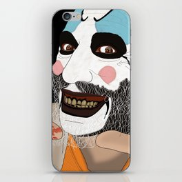 Capitain Spaulding iPhone Skin