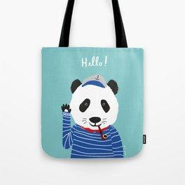 Mr. Panda Seaman Tote Bag