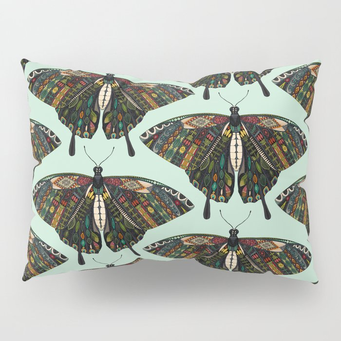 swallowtail butterfly mint Pillow Sham
