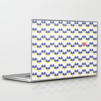 ukraine Laptop & iPad Skins featuring I Love Ukraine by Minichka