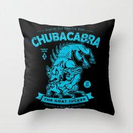 Chupacabra - Crypids Club Case File #345 Throw Pillow