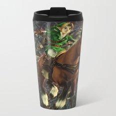 Zelda Poster Metal Travel Mug