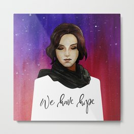 We Have Hope Metal Print