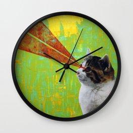 LaserCAT Wall Clock