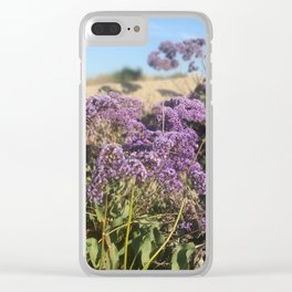 beach side. Clear iPhone Case