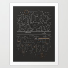 City 24 Art Print