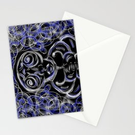 Peacefull Alien Stationery Cards