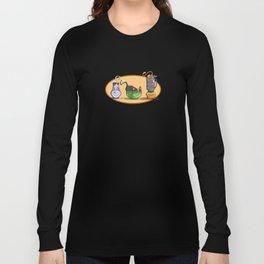 Cats In Stuff Long Sleeve T-shirt