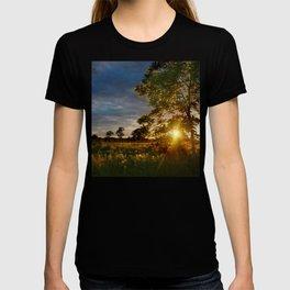 Golden Hour on the Prairie T-shirt