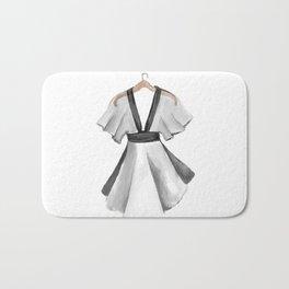 Kimono dress design Bath Mat