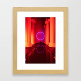 Personal print series Framed Art Print