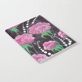 Pink Peonies Notebook