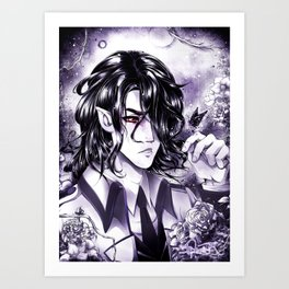 Slowly Wither Away- KnA Hades Art Print