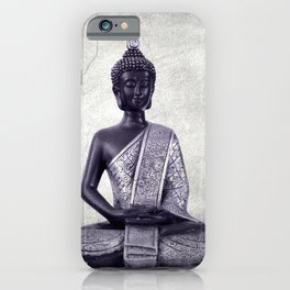 Buddha  - JUSTART © iPhone Case